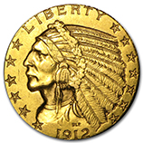 $5.00 Half Eagles (Indian 1908 - 1929)